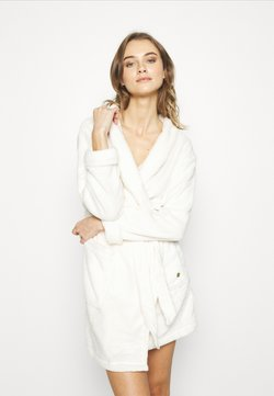 TOM TAILOR - XMAS BATHROBE - Peignoir - white medium solid