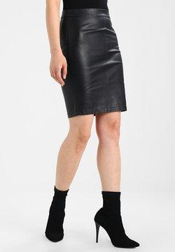 Minimum - TILLA  - Minifalda - black