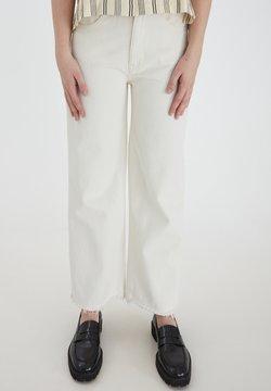 ICHI - IHGALENA - Flared jeans - pristine