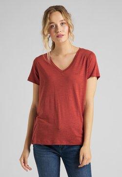 Lee - Camiseta estampada - red ochre