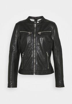 Gipsy - CHARLEE LAORV - Leren jas - black