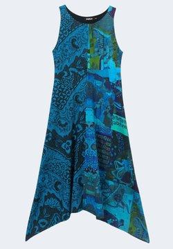 Desigual - NISE - Vestito estivo - blue