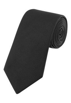 Next - BURGUNDY WIDE  - Cravatta - black