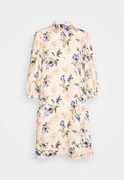 YAS - YASSOPHIA SHIRT DRESS - Skjortekjole - light yellow