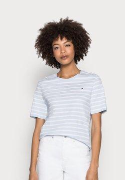 Tommy Hilfiger - REGULAR - T-Shirt print - blue