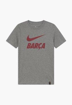 Nike Performance - FC BARCELONA TEE GROUND - Equipación de clubes - grey heather