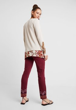 Desigual - PANT MIAMI COLORS - Jean slim - biking red