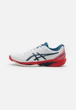 ASICS - SOLUTION SPEED FF - Zapatillas de tenis para todas las superficies - white/mako blue