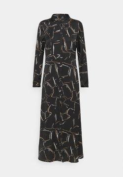 Vero Moda - VMCALA  ANCLE DRESS  - Maxi dress - black