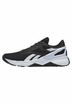 Reebok - NANOFLEX TRAINING - Chaussures de running stables - black