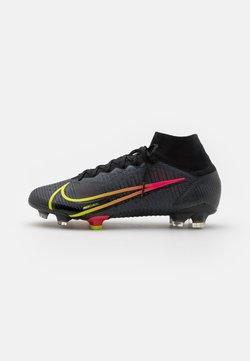 Nike Performance - MERCURIAL 8 ELITE FG - Voetbalschoenen met kunststof noppen - black/cyber/off noir