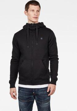G-Star - PREMIUM  - veste en sweat zippée - black