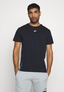 Tommy Hilfiger - PIPING - Printtipaita - blue