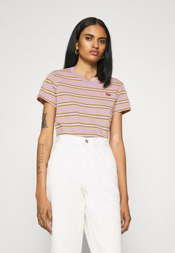 Levi's® - PERFECT TEE - T-Shirt print - borough lavender frost