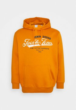 Jack & Jones - JJELOGO HOOD - Sweat à capuche - hawaiian sunset