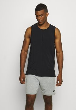 Nike Performance - TANK  - Funktionsshirt - black/iron grey