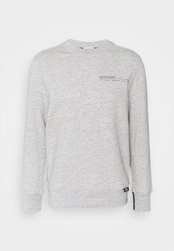 Scotch & Soda - CLUB NOMADE SIGNATURE BASIC CREW NECK - Sweatshirt - grey melange