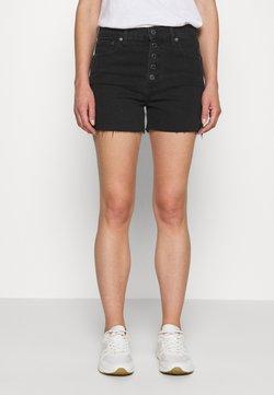 GAP - NEMO - Jeansshort - washed black