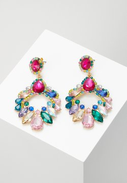 Pieces - PCABBY EARRINGS - Pendientes - gold-coloured/multi