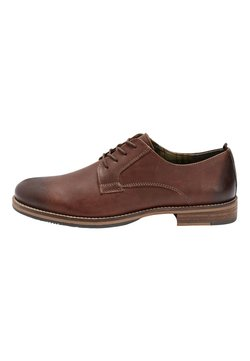 Next - BLACK LEATHER DERBY SHOES - Business-Schnürer - brown