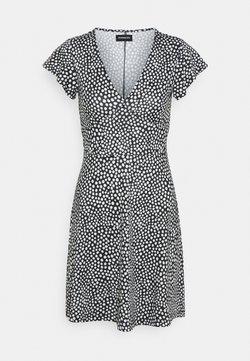 Even&Odd - Vestido ligero - black/white