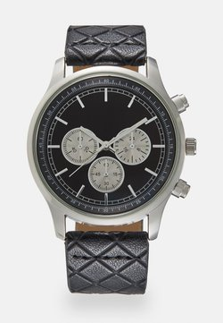 Burton Menswear London - MULTI DIAL WATCH - Watch - black