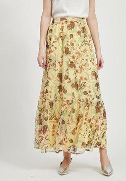 Vila - Maxi skirt - mellow yellow
