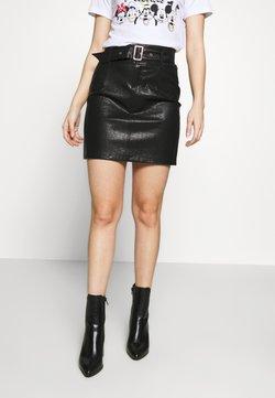 ONLY Petite - ONLKIERA PETITE SKIRT - Mini skirt - black