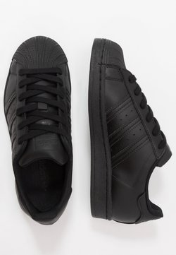 adidas Originals - SUPERSTAR - Sneakers laag - core black