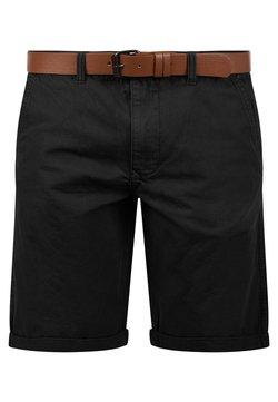 Solid - CHINOSHORTS MONTIJO - Shorts - black