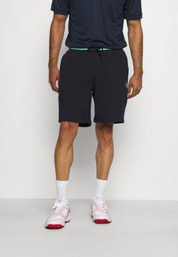 Sergio Tacchini - AVOCADO SHORT - Pantalón corto de deporte - navy/white