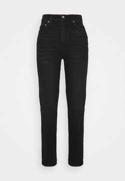 Gina Tricot Tall - COMFY TALL MOM - Jeans Tapered Fit - black