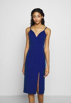 WAL G. - STRAPPY MIDI DRESS - Sukienka koktajlowa - electric blue