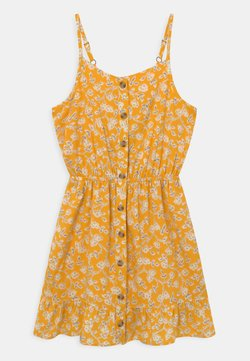 Abercrombie & Fitch - BEST BACK EASTER  - Freizeitkleid - yellow