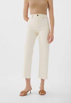Stradivarius - 01164693 - Jeans straight leg - white