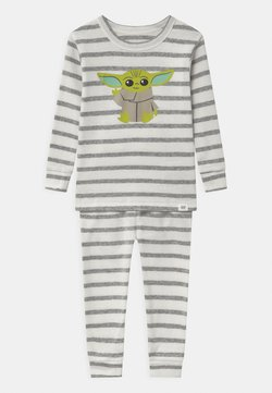 GAP - TODDLER BOY STAR WARS MANDOLORIAN CHILD - Pigiama - snowflake milk