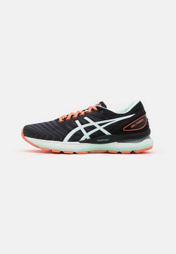 ASICS - GEL-NIMBUS 22 - Laufschuh Neutral - black/bio mint