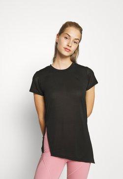 Puma - STUDIO TEE - T-shirt med print - puma black