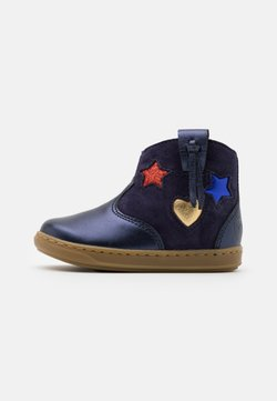 Shoo Pom - BOUBA WEST - Stiefelette - navy/multicolors