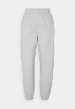 Weekday - SOFT SPORT CORINNA PANTS - Jogginghose - grey melange