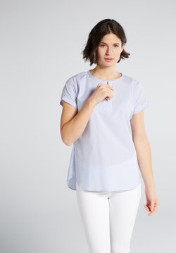Eterna - MODERN CLASSIC - Bluse - light blue/white