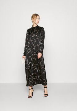Vero Moda - VMCALA  ANCLE DRESS  - Maxi-jurk - black