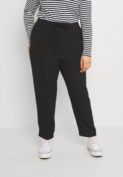 ONLY Carmakoma - CARLUXINA LOOSE PANT SOLID - Pantalon classique - black