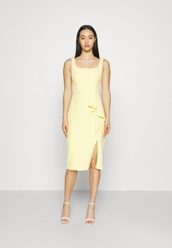 Forever New - EMILY SQUARE NECK MIDI DRESS - Shift dress - soft pollen
