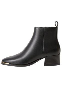 Mango - MINUTE - Boots à talons - schwarz