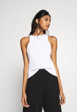 Zign - RACER NECK - Top - white