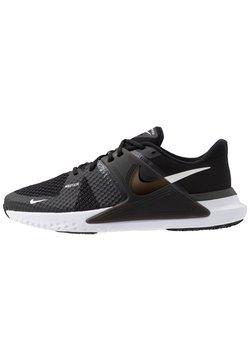 Nike Performance - RENEW FUSION - Sports shoes - black/white/dark smoke grey