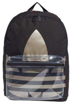 adidas Originals - ADICOLOR LARGE TREFOIL CLASSIC BACKPACK - Reppu - black/gold