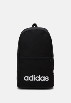 adidas Performance - LINEAR CLASSIC FOUNDATION SPORTS BACKPACK UNISEX - Tagesrucksack - black/white