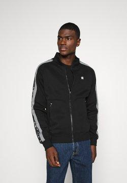 G-Star - STRIPE JACKET - veste en sweat zippée - black